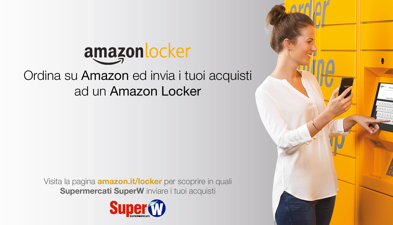 SuperW e Amazon Locker