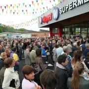 Inaugurazione del SuperW di Sedico