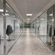 Dettaglio interno dei nuovi uffici del Gruppo
