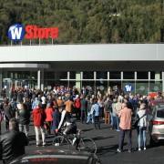 Inaugurazione del WStore
